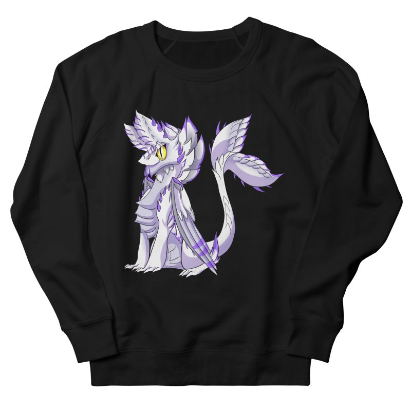 Ivory Shadow Women's French Terry Sweatshirt by AdeptGamer's Merchandise