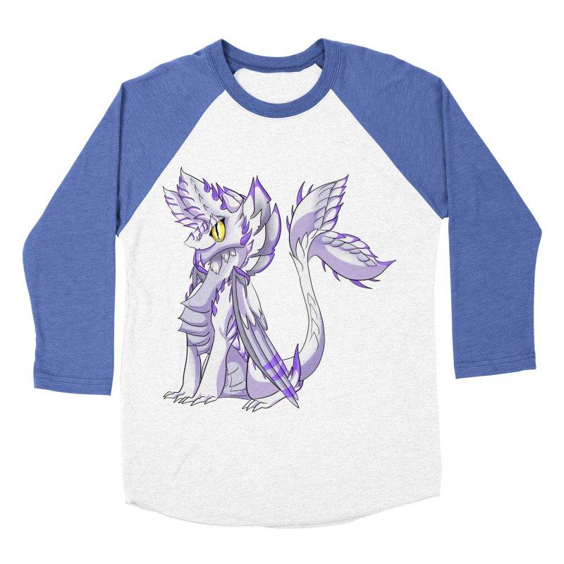 Ivory Shadow Women's Baseball Triblend Longsleeve T-Shirt by AdeptGamer's Merchandise
