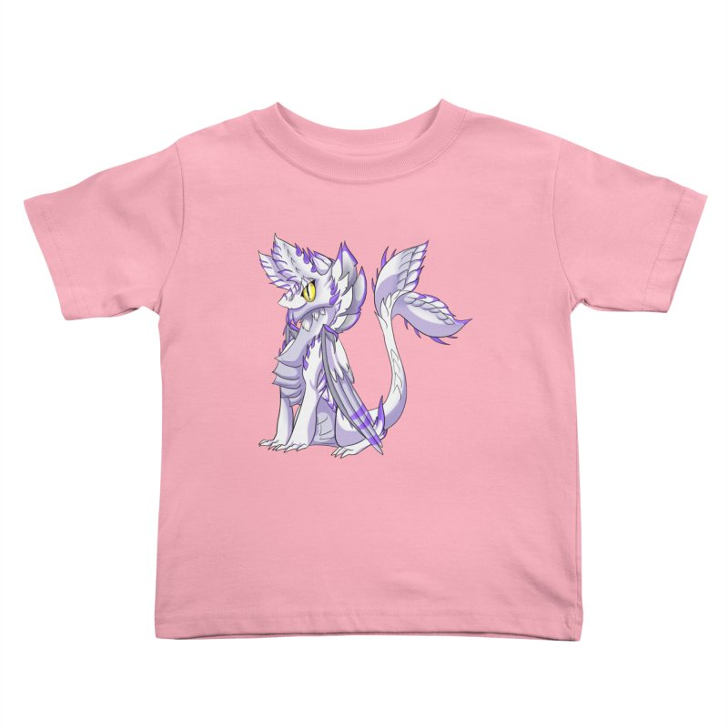 Ivory Shadow Kids Toddler T-Shirt by AdeptGamer's Merchandise