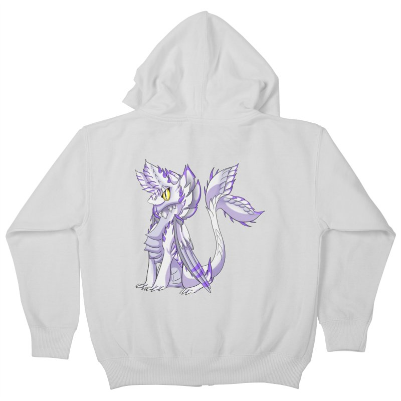 Ivory Shadow Kids Zip-Up Hoody by AdeptGamer's Merchandise