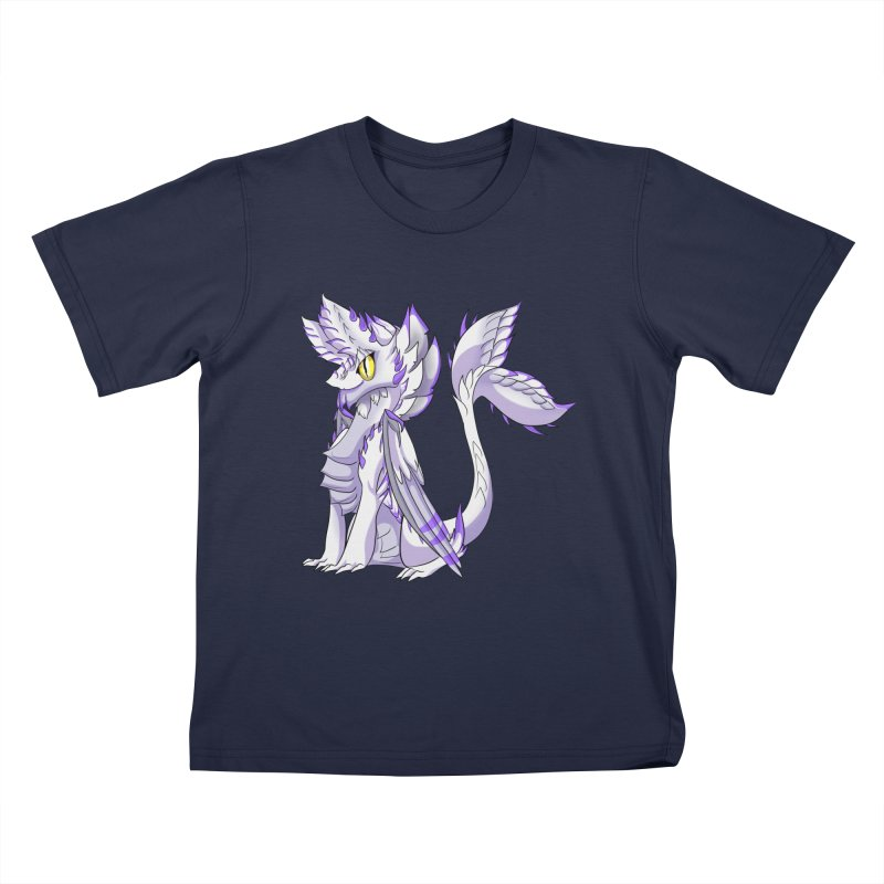 Ivory Shadow Kids T-Shirt by AdeptGamer's Merchandise