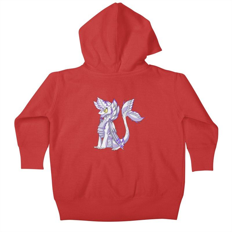 Ivory Shadow Kids Baby Zip-Up Hoody by AdeptGamer's Merchandise