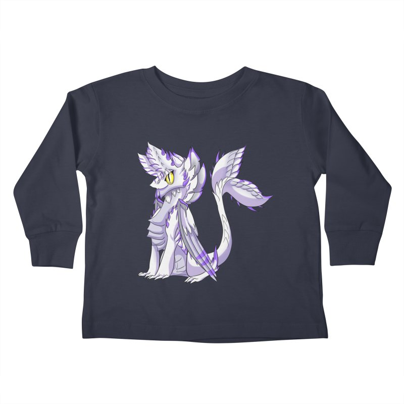 Ivory Shadow Kids Toddler Longsleeve T-Shirt by AdeptGamer's Merchandise