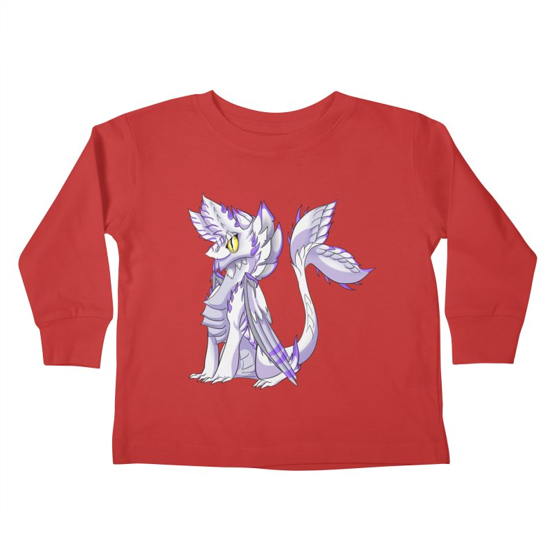 Ivory Shadow Kids Toddler Longsleeve T-Shirt by AdeptGamer's Merchandise