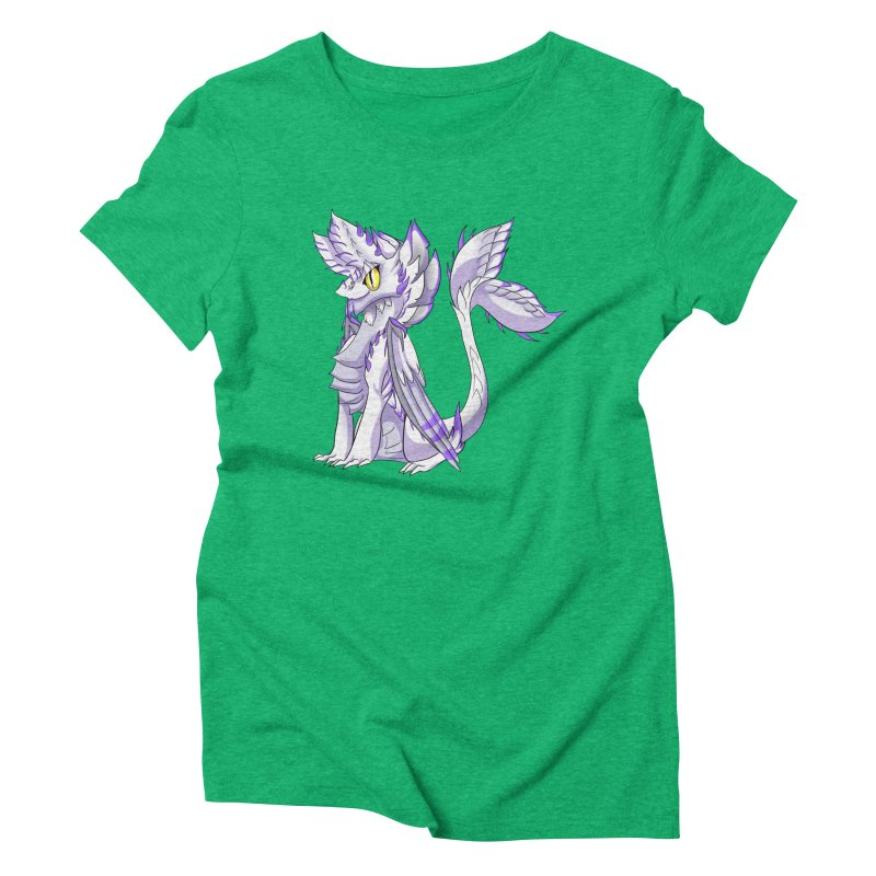 Ivory Shadow Women's Triblend T-Shirt by AdeptGamer's Merchandise