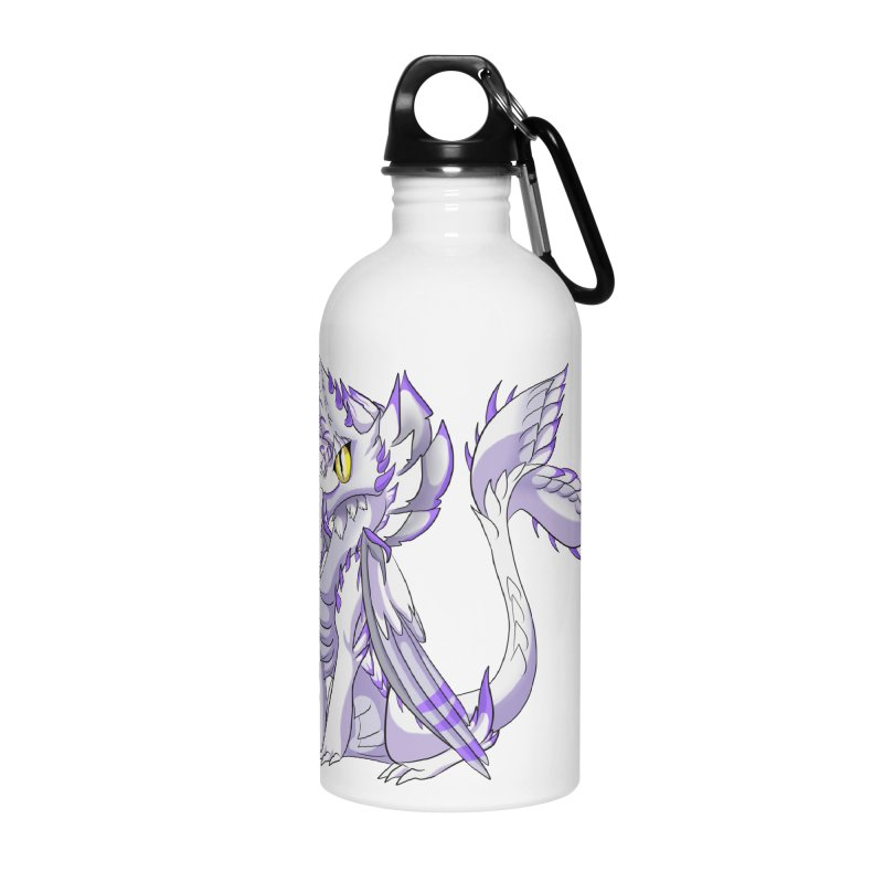 Ivory Shadow Accessories Water Bottle by AdeptGamer's Merchandise