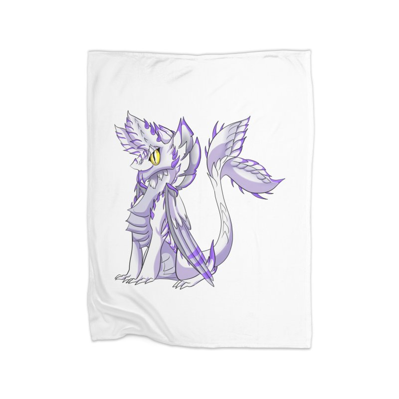 Ivory Shadow Home Blanket by AdeptGamer's Merchandise
