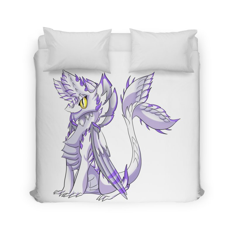 Ivory Shadow Home Duvet by AdeptGamer's Merchandise