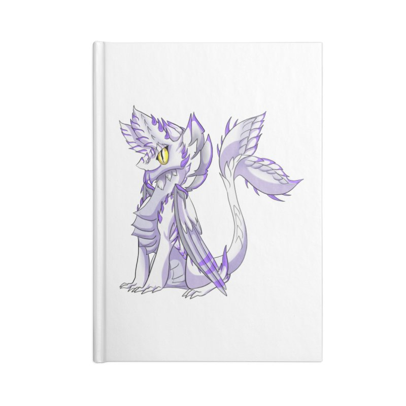 Ivory Shadow Accessories Notebook by AdeptGamer's Merchandise