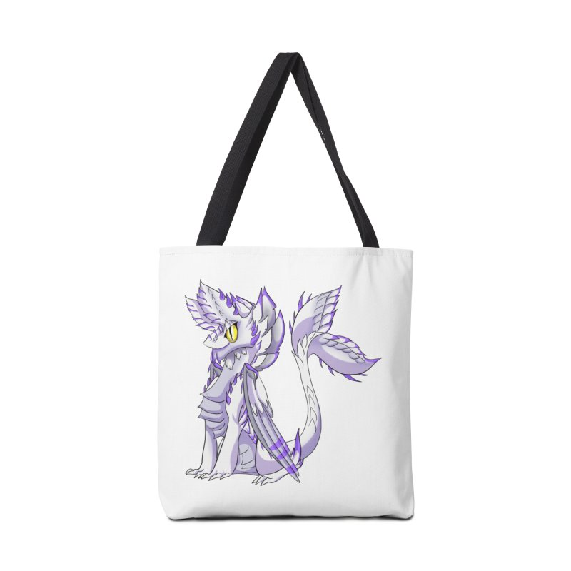 Ivory Shadow Accessories Bag by AdeptGamer's Merchandise