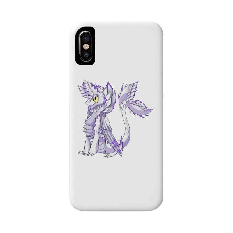 Ivory Shadow Accessories Phone Case by AdeptGamer's Merchandise
