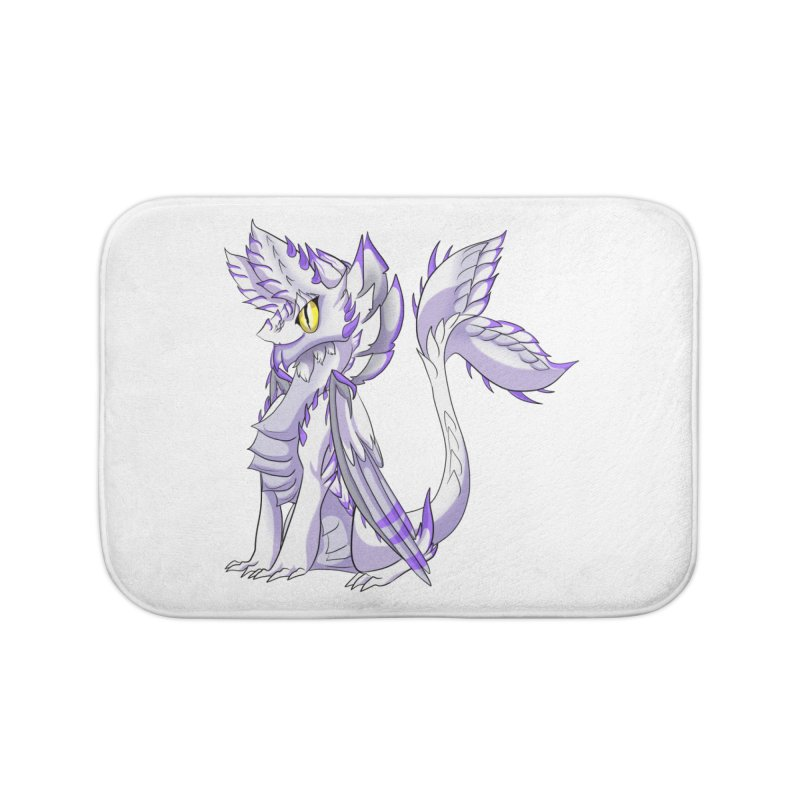Ivory Shadow Home Bath Mat by AdeptGamer's Merchandise