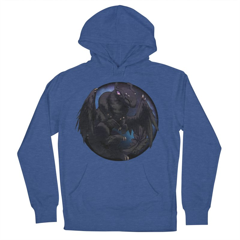 Fleeting Darkness Snowglobe Men's French Terry Pullover Hoody by AdeptGamer's Merchandise