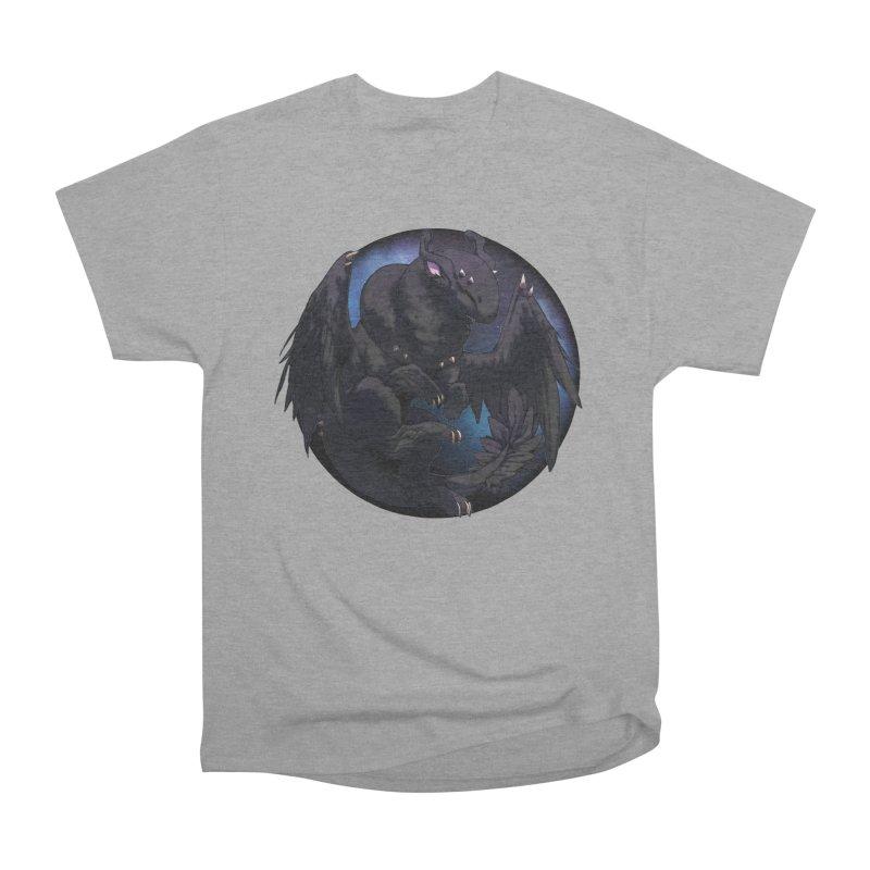 Fleeting Darkness Snowglobe Women's Heavyweight Unisex T-Shirt by AdeptGamer's Merchandise