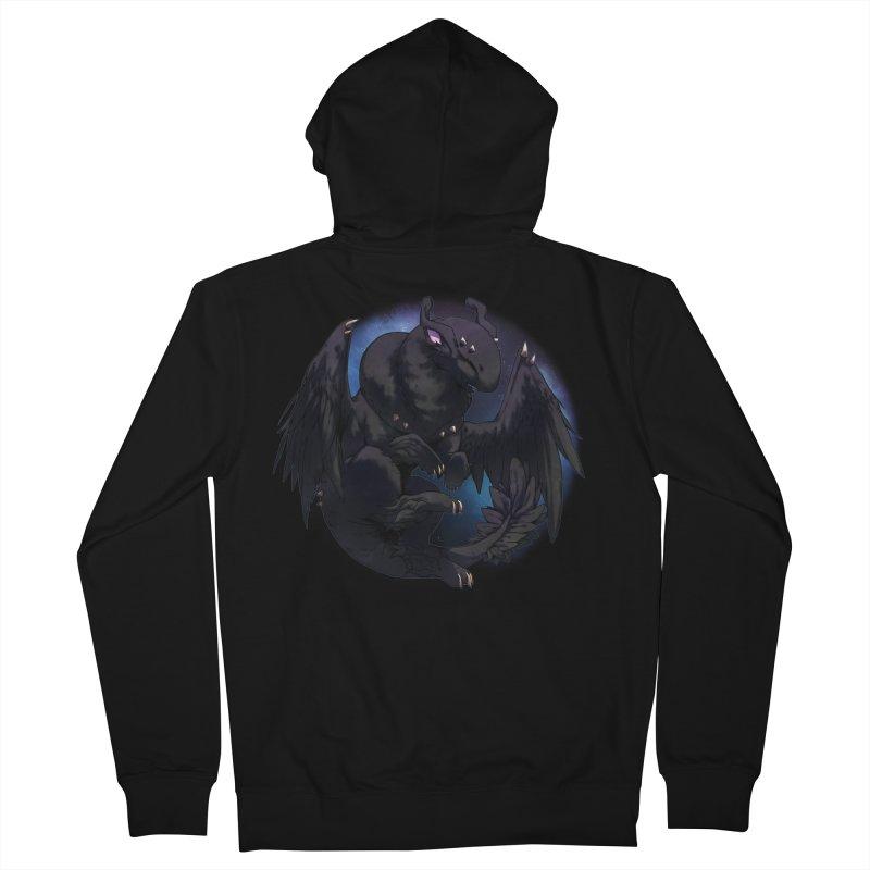 Fleeting Darkness Snowglobe Men's Zip-Up Hoody by AdeptGamer's Merchandise