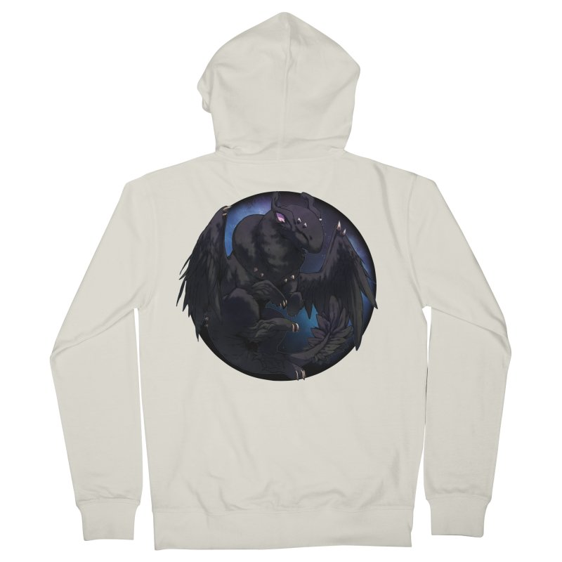 Fleeting Darkness Snowglobe Men's French Terry Zip-Up Hoody by AdeptGamer's Merchandise