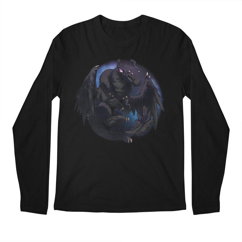 Fleeting Darkness Snowglobe Men's Longsleeve T-Shirt by AdeptGamer's Merchandise