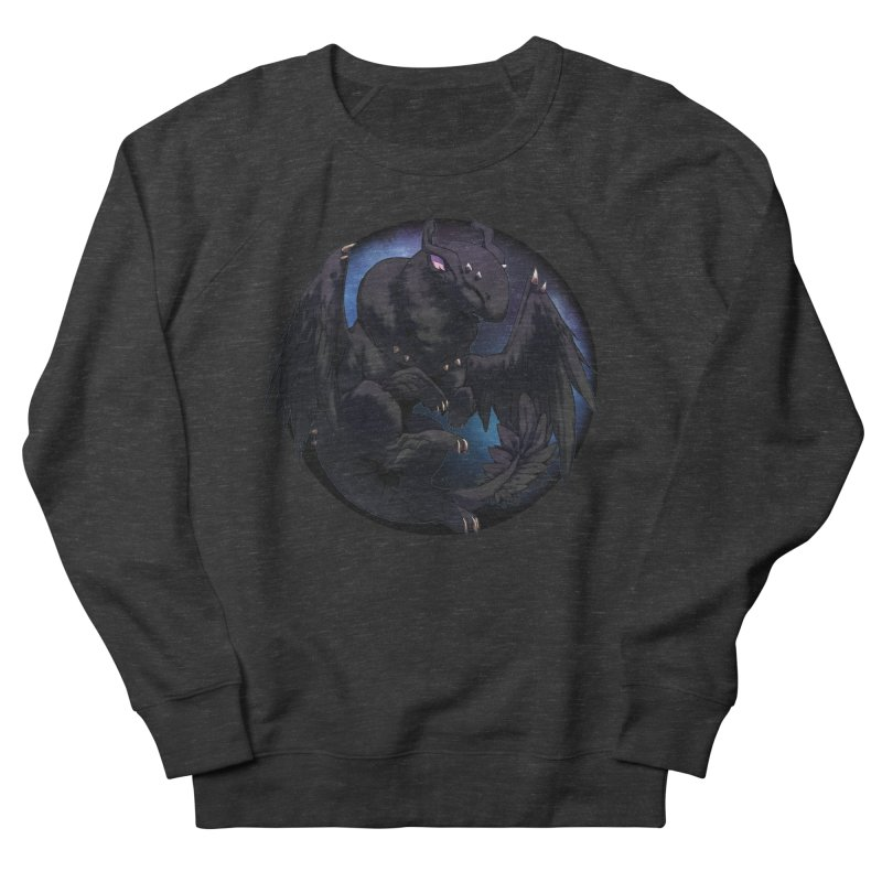 Fleeting Darkness Snowglobe Women's French Terry Sweatshirt by AdeptGamer's Merchandise