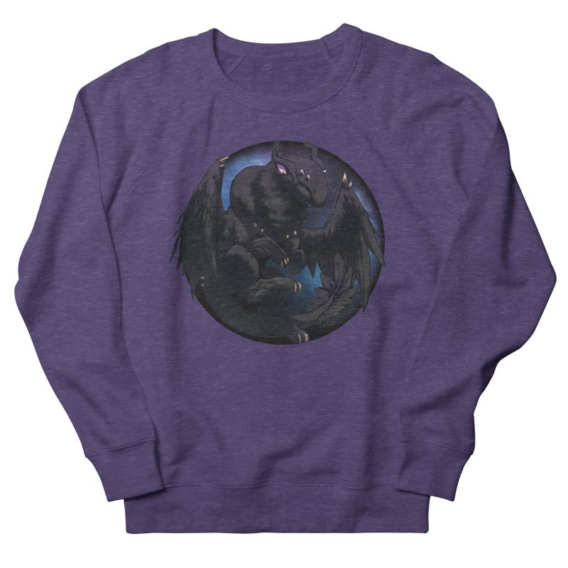 Fleeting Darkness Snowglobe Women's French Terry Sweatshirt by AdeptGamer's Merchandise