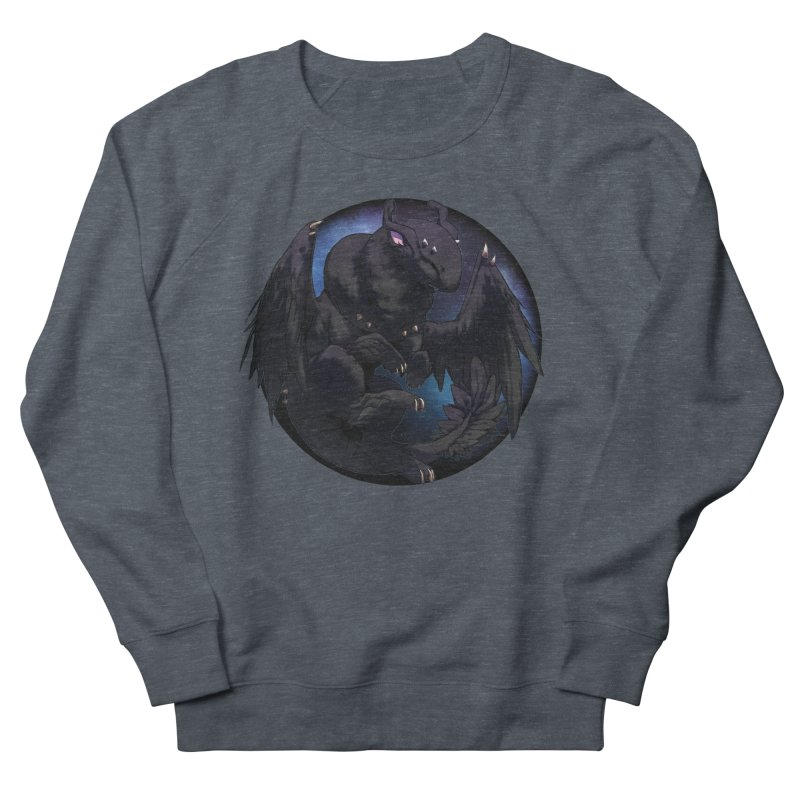 Fleeting Darkness Snowglobe Men's French Terry Sweatshirt by AdeptGamer's Merchandise