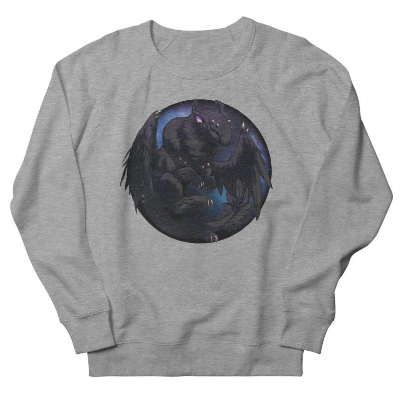 Fleeting Darkness Snowglobe Men's French Terry Sweatshirt by AdeptGamer's Merchandise