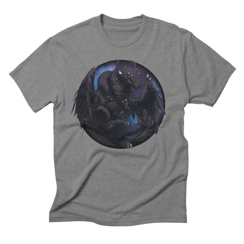 Fleeting Darkness Snowglobe Men's Triblend T-Shirt by AdeptGamer's Merchandise
