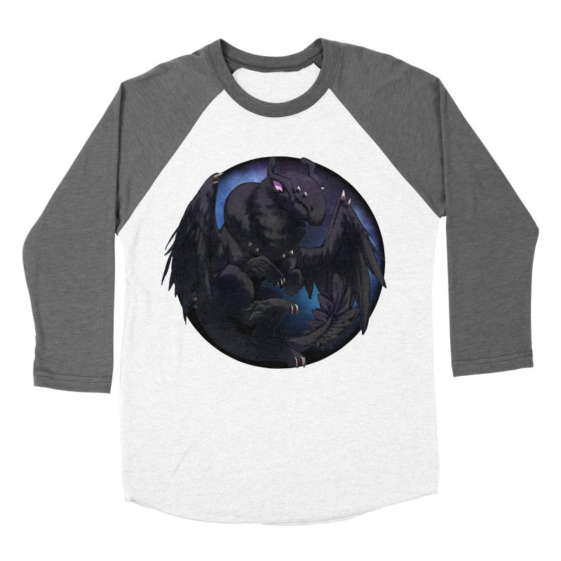 Fleeting Darkness Snowglobe Women's Baseball Triblend Longsleeve T-Shirt by AdeptGamer's Merchandise