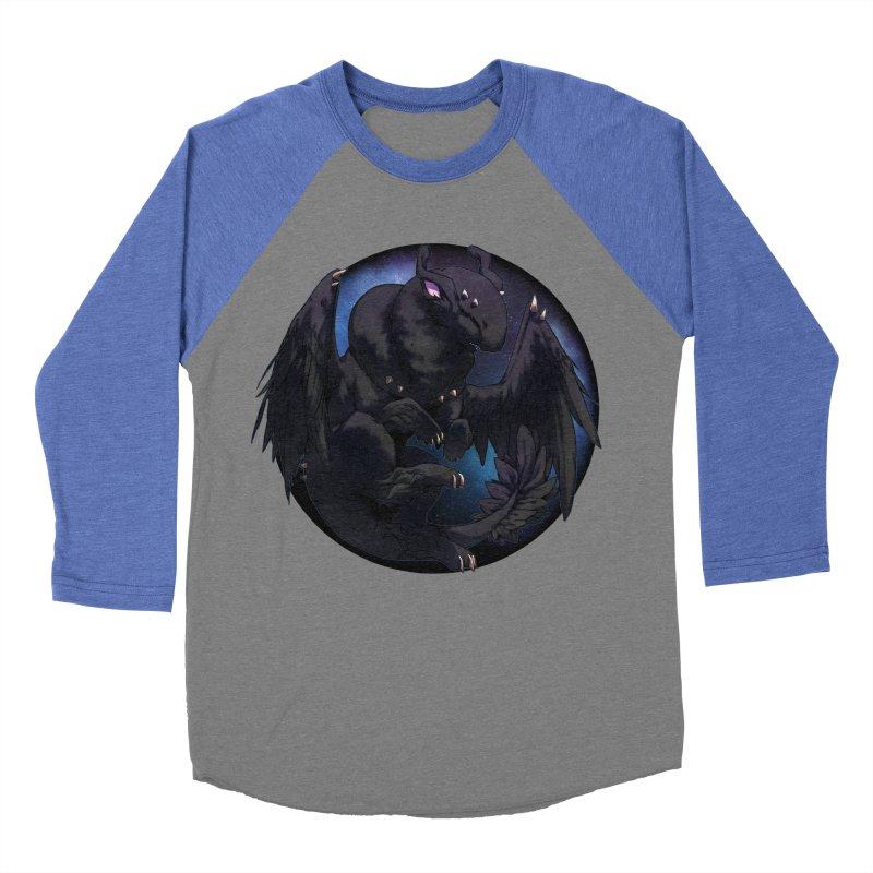 Fleeting Darkness Snowglobe Men's Baseball Triblend Longsleeve T-Shirt by AdeptGamer's Merchandise