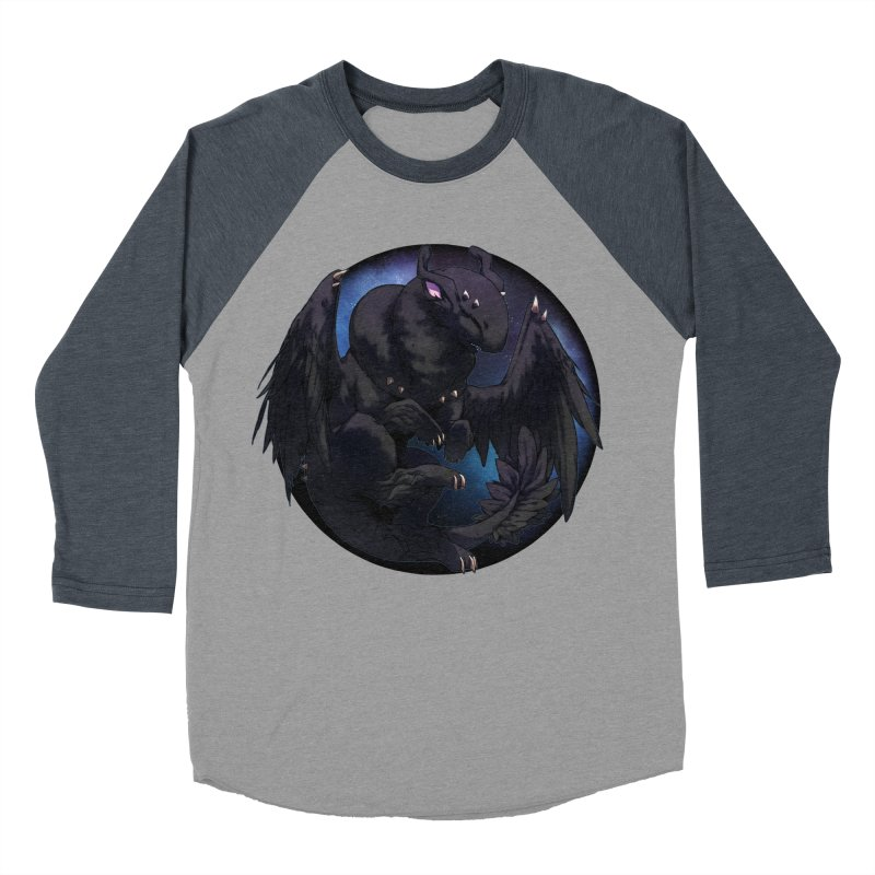 Fleeting Darkness Snowglobe Men's Baseball Triblend T-Shirt by AdeptGamer's Merchandise