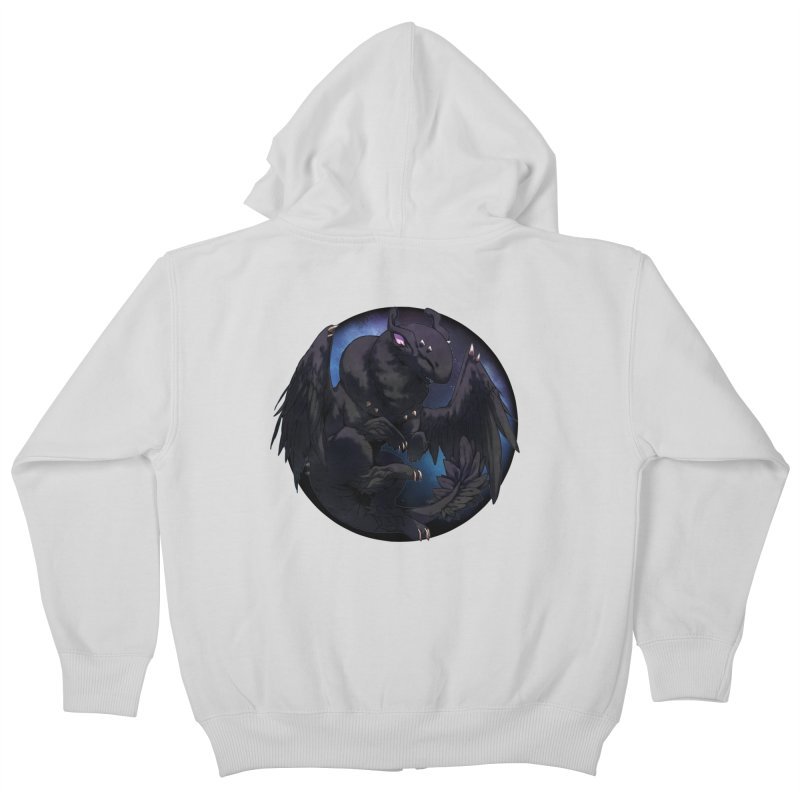 Fleeting Darkness Snowglobe Kids Zip-Up Hoody by AdeptGamer's Merchandise