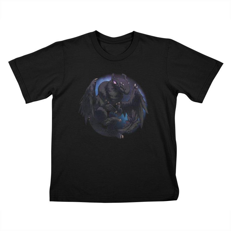 Fleeting Darkness Snowglobe Kids T-Shirt by AdeptGamer's Merchandise