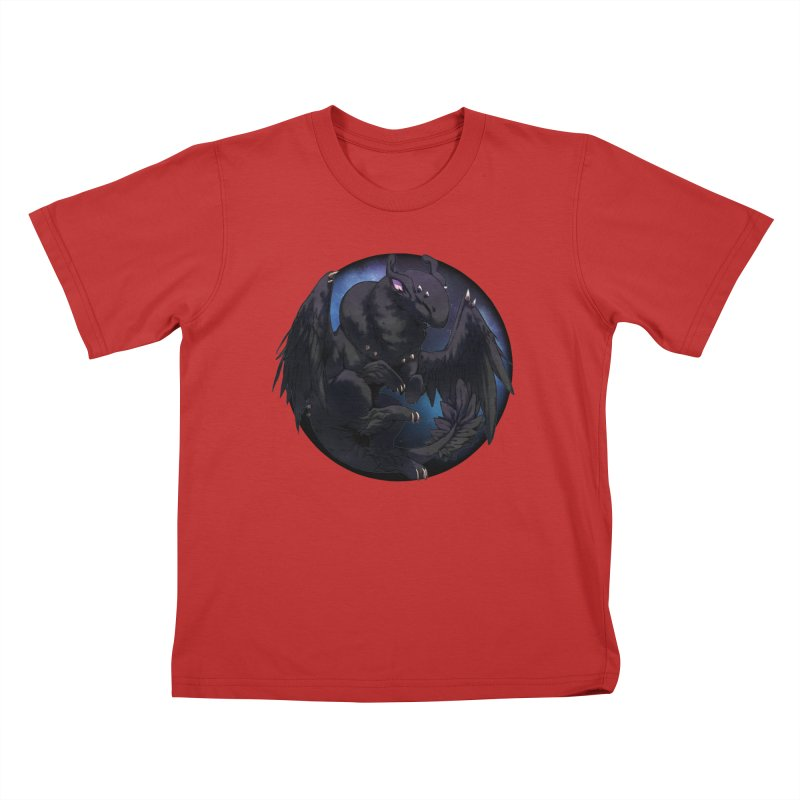 Fleeting Darkness Snowglobe Kids T-Shirt by AdeptGamer's Merchandise