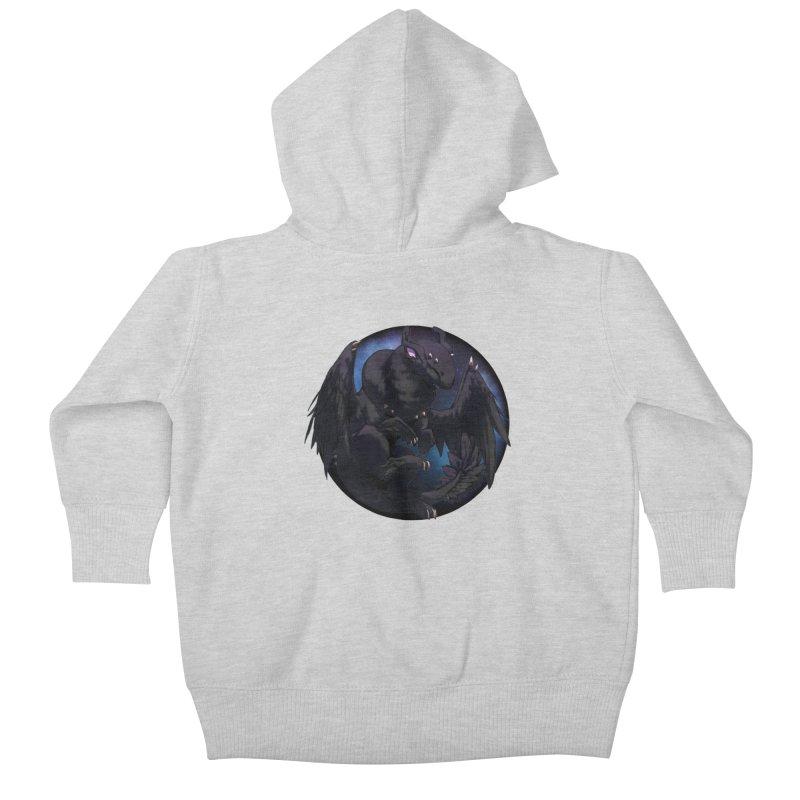 Fleeting Darkness Snowglobe Kids Baby Zip-Up Hoody by AdeptGamer's Merchandise