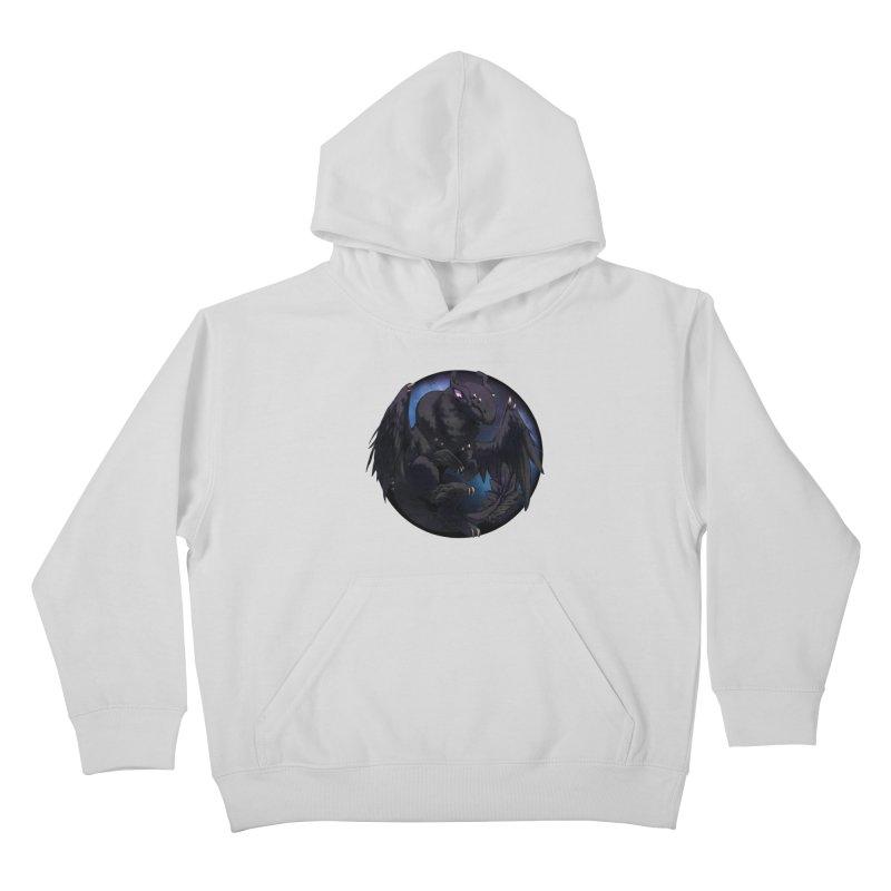 Fleeting Darkness Snowglobe Kids Pullover Hoody by AdeptGamer's Merchandise