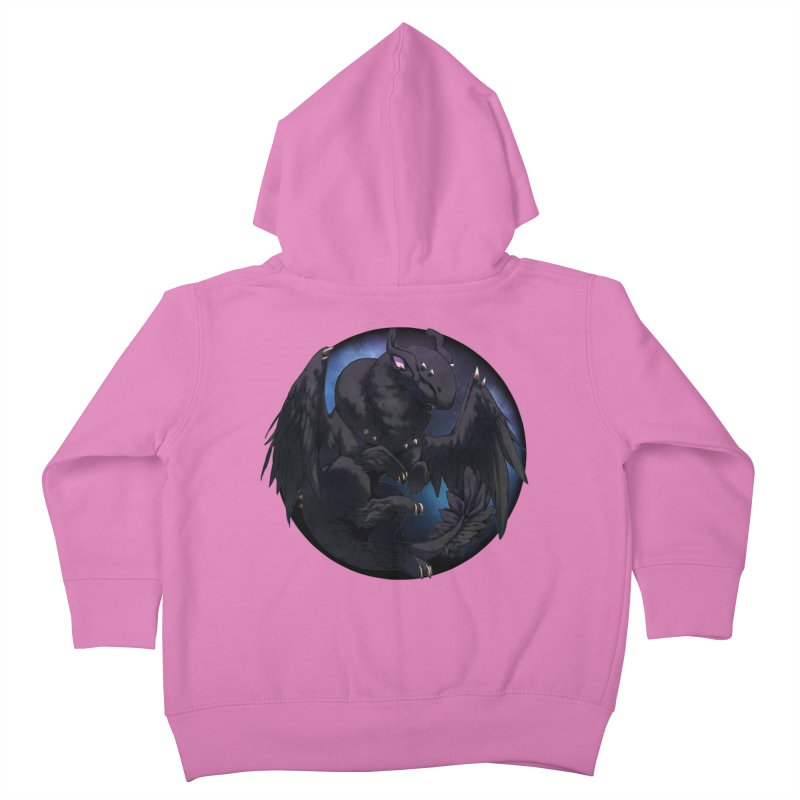 Fleeting Darkness Snowglobe Kids Toddler Zip-Up Hoody by AdeptGamer's Merchandise