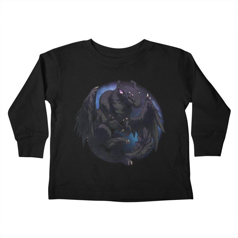 Fleeting Darkness Snowglobe Kids Toddler Longsleeve T-Shirt by AdeptGamer's Merchandise
