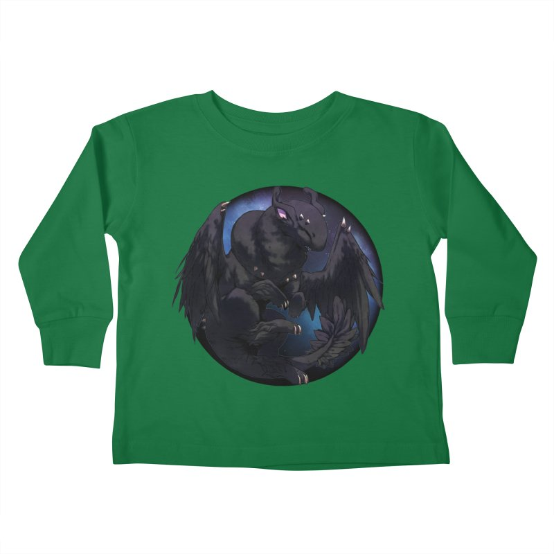 Fleeting Darkness Snowglobe Kids Toddler Longsleeve T-Shirt by AdeptGamer's Merchandise