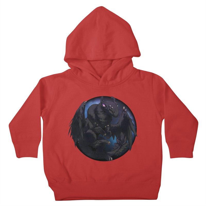 Fleeting Darkness Snowglobe Kids Toddler Pullover Hoody by AdeptGamer's Merchandise
