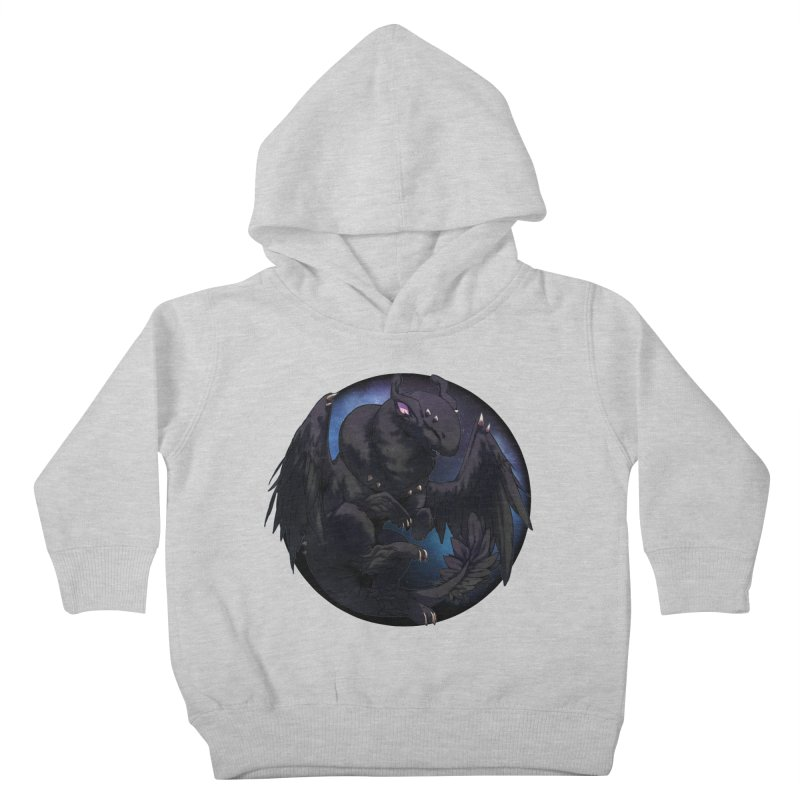 Fleeting Darkness Snowglobe Kids Toddler Pullover Hoody by AdeptGamer's Merchandise