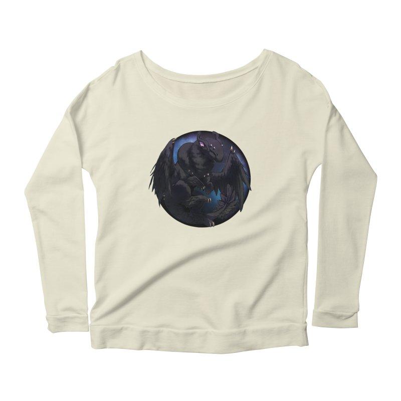 Fleeting Darkness Snowglobe Women's Scoop Neck Longsleeve T-Shirt by AdeptGamer's Merchandise