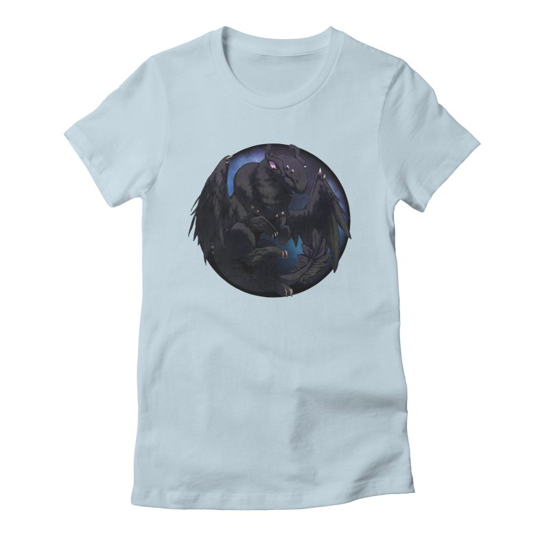 Fleeting Darkness Snowglobe Women's Fitted T-Shirt by AdeptGamer's Merchandise