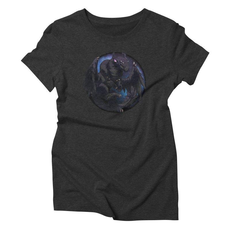 Fleeting Darkness Snowglobe Women's Triblend T-Shirt by AdeptGamer's Merchandise