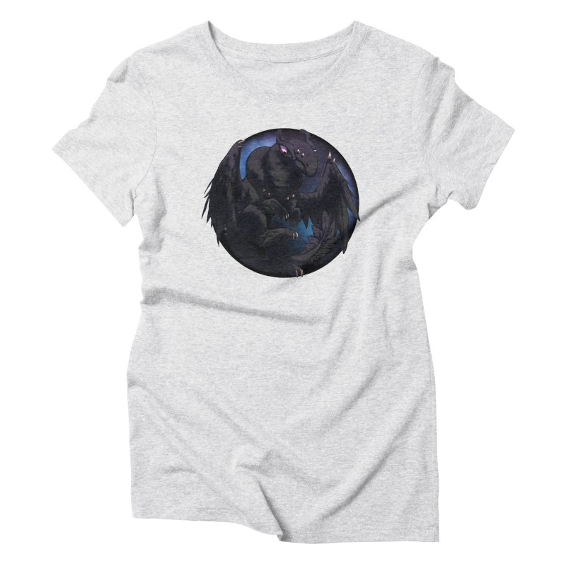 Fleeting Darkness Snowglobe Women's Triblend T-Shirt by AdeptGamer's Merchandise