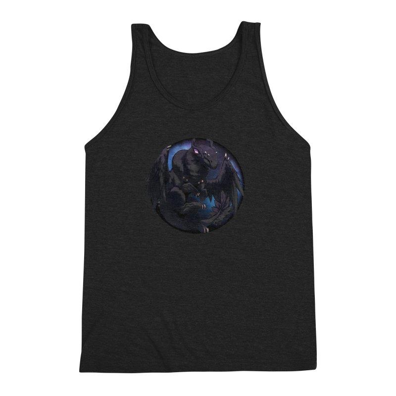 Fleeting Darkness Snowglobe Men's Triblend Tank by AdeptGamer's Merchandise