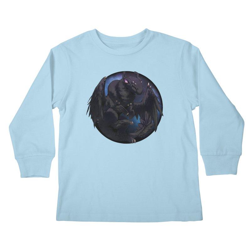 Fleeting Darkness Snowglobe Kids Longsleeve T-Shirt by AdeptGamer's Merchandise