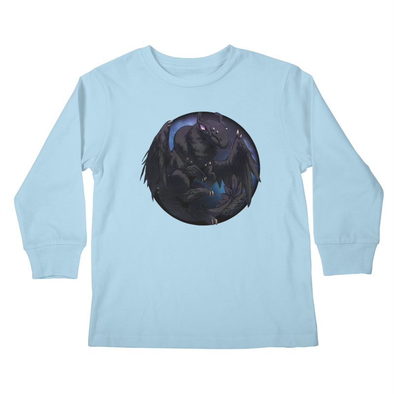 Fleeting Darkness Snowglobe Kids Longsleeve T-Shirt by AdeptGamer's Merchandise