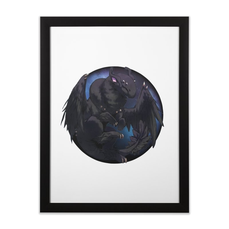 Fleeting Darkness Snowglobe Home Framed Fine Art Print by AdeptGamer's Merchandise
