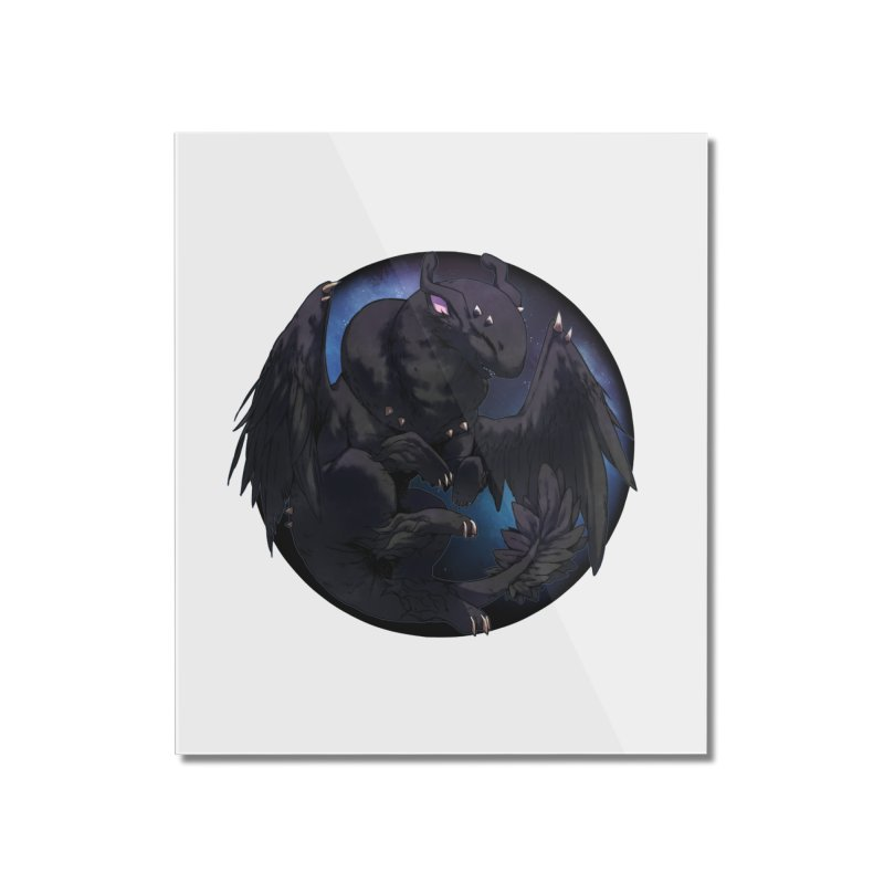 Fleeting Darkness Snowglobe Home Mounted Acrylic Print by AdeptGamer's Merchandise