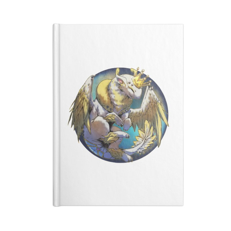 Whirlmoon Snowglobe Accessories Notebook by AdeptGamer's Merchandise