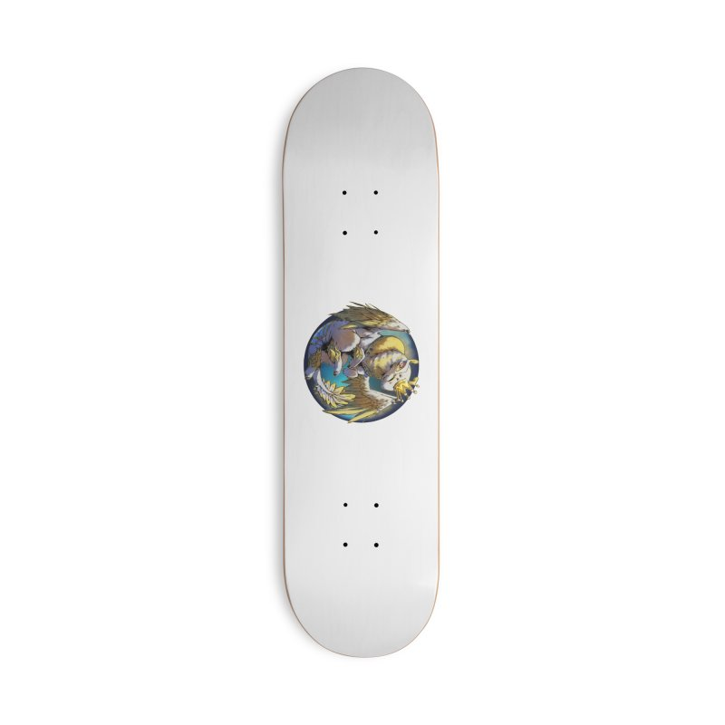 Whirlmoon Snowglobe Accessories Skateboard by AdeptGamer's Merchandise